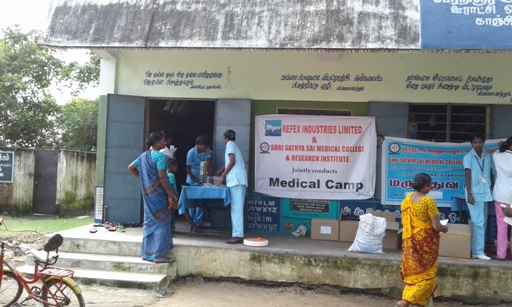 Anil Jain's Refex Industries Conducted Medical Camp in Chennai 01